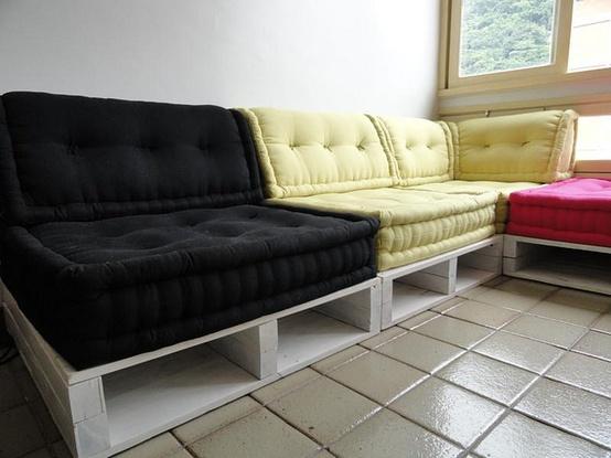 Divani economici ecosostenibili e alla moda usiamo il for Made divani