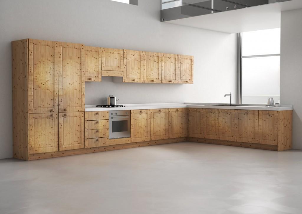 Voglia di una nuova cucina senza cambiarla - Come rinnovare una cucina in legno ...