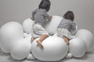 Divano comodo e 39 di design e fatto con il marshmallow for Divano tondo aruba