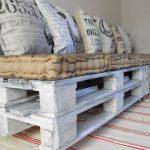 cuscini per divani in pallet